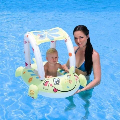 34087 Надувная лодочка  с защитой от ультрафиолета