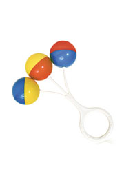 """Погремушка простая """"3 шарика"""" Bertoni /1021035/"""