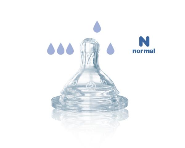 Соски на бутылочку с узким горлышком силикон BERTONI /Код 1110/