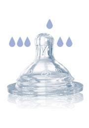Соска на бутылочку с широким горлышком силикон Bertoni /1022015/