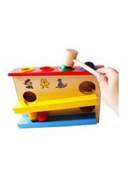Jucărie din lemn cu bile, EssaToys /10030/