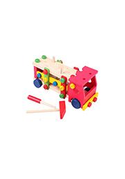 Jucărie din lemn CAMION, EssaToys /10047/