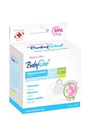 Protector mamelon din silicon S. 2buc BabyOno (07430)