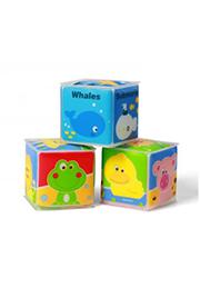 Мягкие кубики 3 шт. 5х5 см, BabyOno /03938/