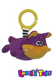"Игрушка подвеска вибро ""HIPPO"", Lorelli /10190931302/"