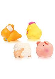 Набор игрушек для ванны ФЕРМА, 4шт. Lorelli /1021033/