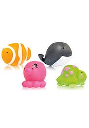 Набор игрушек для ванны ОКЕАН, 4шт. Lorelli /1021034/