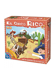 Коллективная настольная игра на РУМ. яз. - EL CHICO RICO /71545/