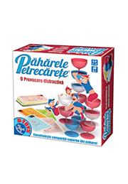 Joc pe tabla in limba ROMÂNĂ - PAHARELE PETRECARETE /71590/