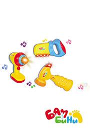 """Set jucării """"Unelte muzicale"""", BamBini/70846/"""