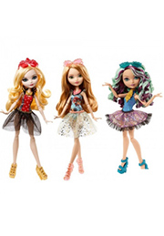 "Papuși EVER AFTER HIGH colecție ""Mirror Beach"" in sortiment CLC64 /30508/"