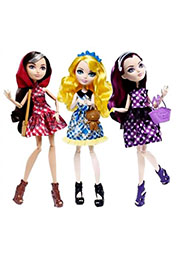 "Papuși EVER AFTER HIGH colecția ""Zi de picnic"" in sortiment CLL49 /39969/"