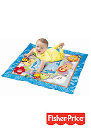 Saltea de activitate Friendly Firsts Discovery Play Quilt, Fisher Price /95352/