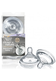 Tetine debit variabil silicon, 0+, Tommee Tippee /21407/