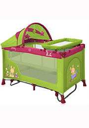 Кровать-манеж NANNY 2 Plus ROCKER Bertoni