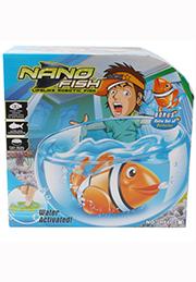 Интерактивная рыбка NANO FISH с аквариумом /03769/