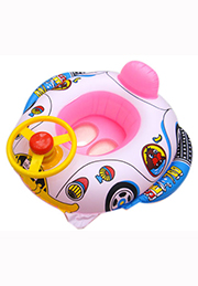 Надувная лодочка-машинка для малышей /350780/