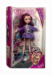Papușa Raven Green Ever After High /852461/