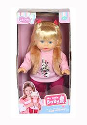 Кукла My Little BaBy на русском языке /010801/