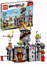 Конструктор Angry Birds, ЗАМОК КОРОЛЯ СВИНОК /42606/