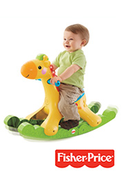 Jirafă-balansoar Fisher Price /00009/