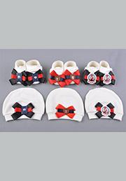Набор для мальчика: пинетки+шапочка /34497/
