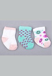 Носочки для новорожденных /37635/