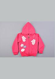 Курточка для девочки с капюшоном /38990/