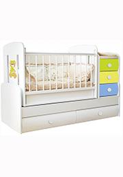 Кроватка детская COMFORT VIP Bambini
