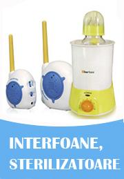 Interfoane, sterilizatoare