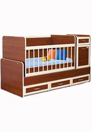 Кроватка детская LUX Bambini