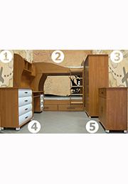 Набор мебели для детской комнаты TWINS