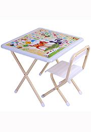 Набор столик+стульчик для дошкольника, BAMBY /Россия/