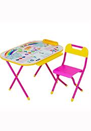 Set birou-transformer cu scaunel