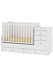 Кроватка детская Bambini COMFORT NEW White