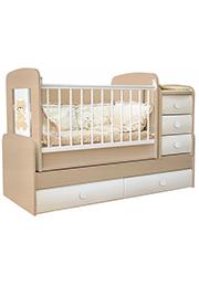 Кроватка детская Bambini COMFORT VIP Cremona&Beige
