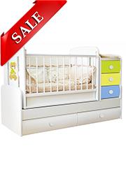 Кроватка детская Bambini COMFORT VIP Multicolor /SALE/