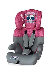 Автокресло 9-36 kg Lorelli JUNIOR Pink Kitty