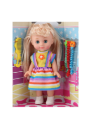 Кукла в разноцветном платье, 30 см /05850/