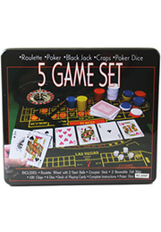 Set POKER 5-in-1 /06848/