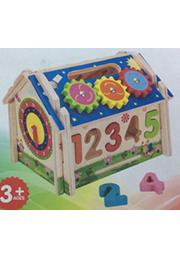 Jucărie din lemn CASUȚA INELIGENTA /58181/