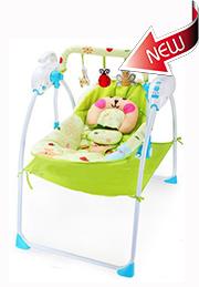 Шезлонг-колыбелька электронная Baby Cradle /54375/