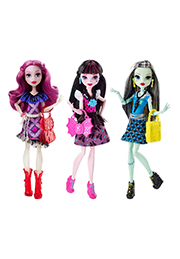 Papușa MONSTER HIGH in sortiment /DNW97/