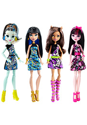 Papușa MONSTER HIGH (in sortiment) /DTD90/