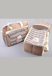Набор в коляску: сумка-переноска + сумка для мамы /24767/