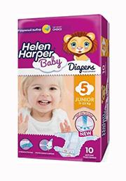 Подгузники Helen Harper Baby JUNIOR (11-25 kg), 10 шт. /2310847/