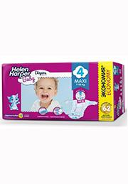 Подгузники Helen Harper Baby MAXI (7-18 kg), 62 шт. /2310852/