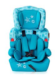 Автокресло 9-36 kg Lorelli KIDDY Aquamarine Stars