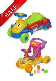 Машинка-толкалка 2в1 ACTIVE BABY CAR Bertoni /1005014/