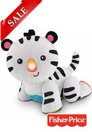 Интерактивная игрушка-ползунок ТИГРЁНОК, Fisher Price /45086/